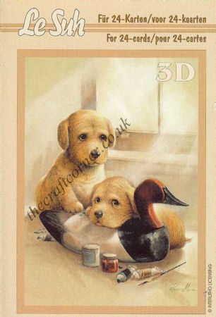 Cat & Dog Mini 3D Decoupage Book by Le Suh